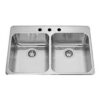 Double S S Sink Rear Drain Drain 34-3071