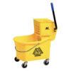 32 QT Wringer Bucket Combo Side Press W1133-32