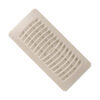 Almond Floor Register Plastic 3 x 10 76-PL310-AL