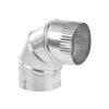 Aluminum Elbow 4 x 90 76-0030