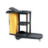 Janitorial Cart with Nylon Zip Bag W174GS