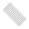 White Floor Register Plastic 3 x 10 76-PL310-WH