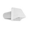 White Vent Hood Plastic 4 76-0010